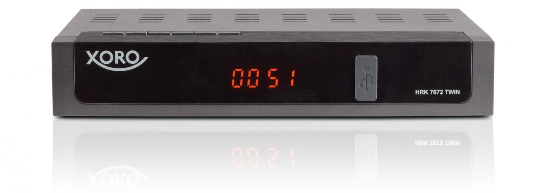 Kabel Receiver mit Festplatte Xoro HRK 7672 TWIN im Test, Bild 1
