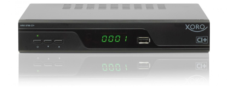 Kabel Receiver ohne Festplatte Xoro HRK 8760 CI+ im Test, Bild 1