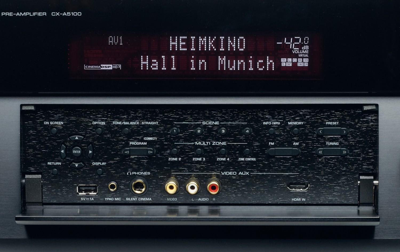 AV-Vorstufen Yamaha CX-A5100 im Test, Bild 3