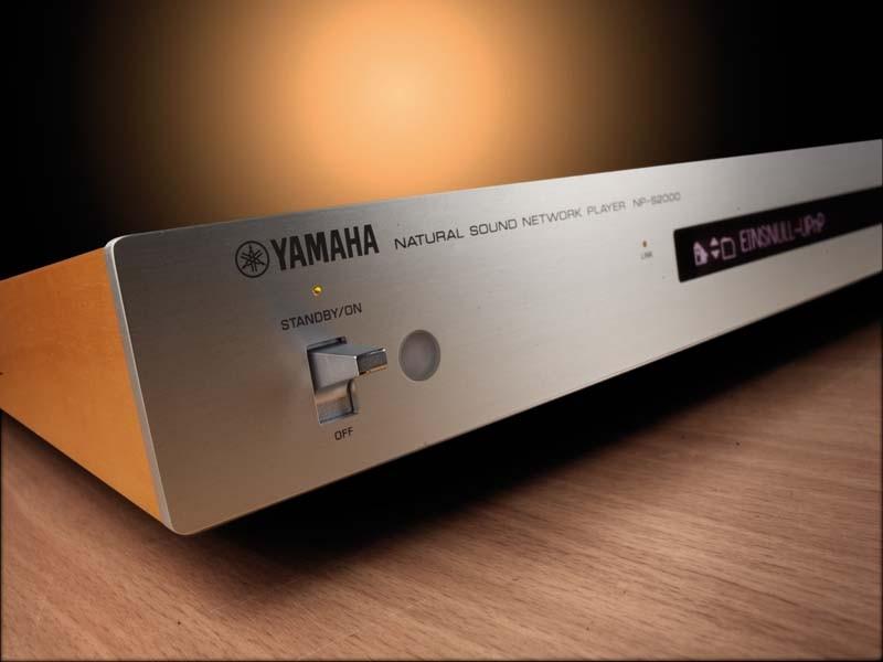 DLNA- / Netzwerk- Clients / Server / Player Yamaha NP-S2000 im Test, Bild 1