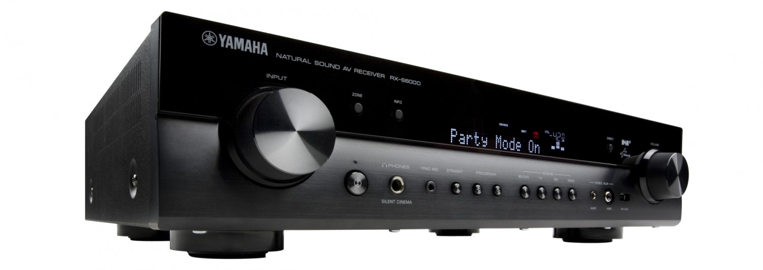 test av receiver yamaha rx s600 d sehr gut seite 1. Black Bedroom Furniture Sets. Home Design Ideas