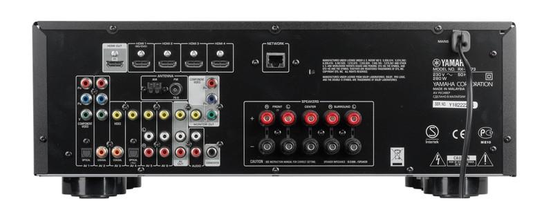 AV-Receiver Yamaha RX-V473 im Test, Bild 2