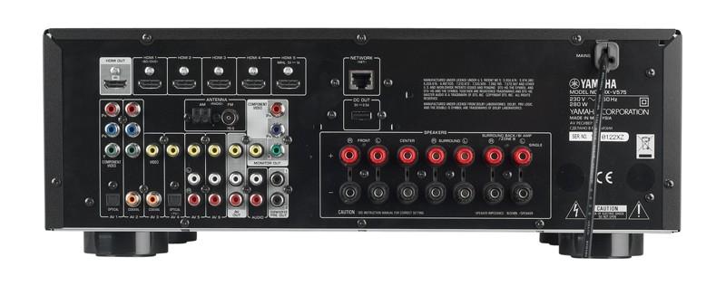 AV-Receiver Yamaha RX-V575 im Test, Bild 3