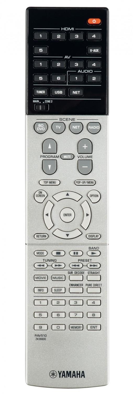 AV-Receiver Yamaha RX-V677 im Test, Bild 2