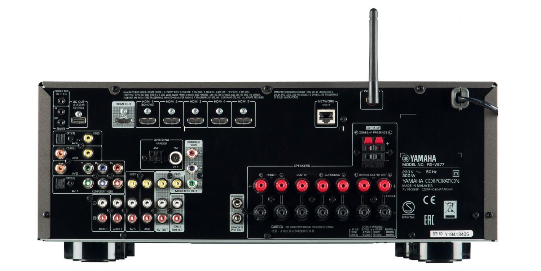 AV-Receiver Yamaha RX-V677 im Test, Bild 3
