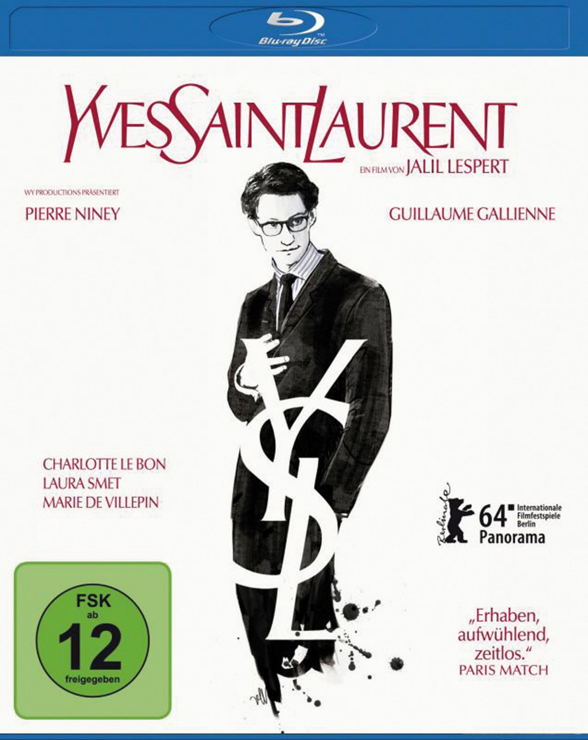 Blu-ray Film Yves Saint Laurent (Universum) im Test, Bild 1