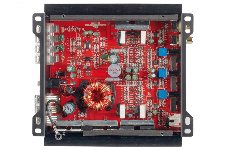 Car-HiFi Endstufe 2-Kanal Zapco ST-2X SQ im Test, Bild 2
