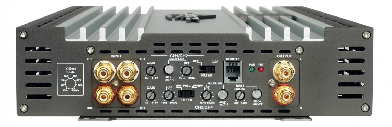Car-HiFi Endstufe 4-Kanal Zapco Z-150.4 SP im Test, Bild 2
