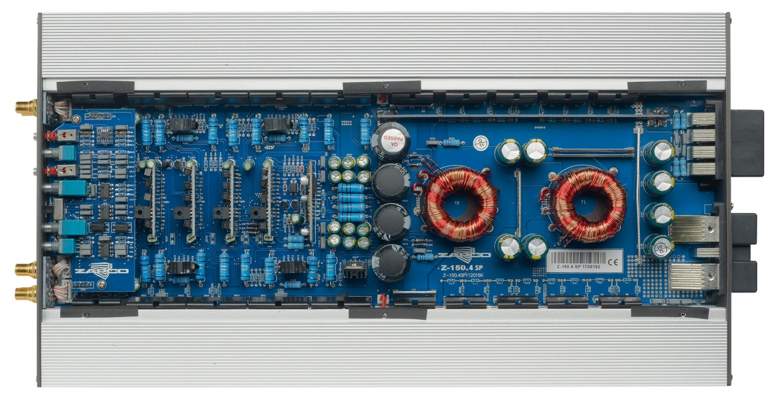 Car-HiFi Endstufe 4-Kanal Zapco Z-150.4 SP im Test, Bild 3