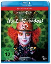 Blu-ray Film Alice im Wunderland 3D (Walt Disney) im Test, Bild 1