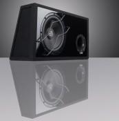 Car-Hifi Subwoofer Gehäuse Audio System HX 12 SQ BR im Test, Bild 1