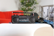 Portable- und Outdoor-Soundsysteme Auvisio Retro-Boombox im Test, Bild 1