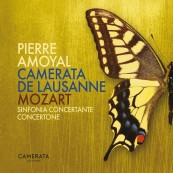 Download Camerata de Lausanne & Pierre Amoyal - Mozart: Sinfonia concertante & Cocertone (Warner) im Test, Bild 1