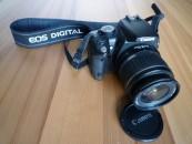 Digitale Fotoapparate (Spiegelreflex) Canon EOS 350D im Test, Bild 1