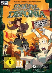 Games PC Daedalic Entertainment Goodbye Deponia im Test, Bild 1