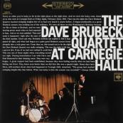 Schallplatte Dave Brubeck Quartet – At Carnegie Hall (Columbia / Speakers Corner) im Test, Bild 1