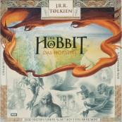 Schallplatte Der Hobbit – J.R.R. Tolkien Sprecher: Martin Benrath, Bernhard Minetti, Horst Bollmann u.a. (Hörverlag) im Test, Bild 1