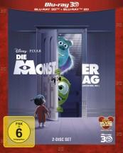 Blu-ray Film Die Monster AG 3D (Walt Disney) im Test, Bild 1