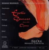 Schallplatte Diverse: Exotic Dances from the Opera – Minnesota Orchestra, Eiji Oue (Reference Recordings) im Test, Bild 1
