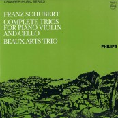 Schallplatte Franz Schubert – Complete Trios for Piano, Violin and Cello – Beaux Arts Trio (Philips / Speakers Corner) im Test, Bild 1