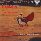 Schallplatte Georges Bizet: Carmen Suite, L´Arlesienne – Orchestre de la Suisse Romande, Ernest Ansermet (Decca / Speakers Corner) im Test, Bild 1