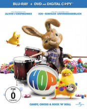 Blu-ray Film Hop – Osterhase oder Superstar? (Universal) im Test, Bild 1