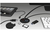 Zubehör Tablet und Smartphone Icybox IB-Hub1404 im Test, Bild 1