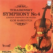 Schallplatte Peter Tschaikowski, London Symphony Orchestra, Igor Markevitch – Symphonie No. 4 (Philips / Speakers Corner) im Test, Bild 1