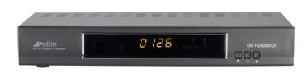 HDTV-Settop-Box Pollin DR-HD433SCT im Test, Bild 1