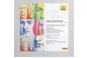 Schallplatte Six Brandenburg Concertos, BWV 1046 – 1051, Complete Edition Partita in D minor BWV 1004, Chaconne W.A. Mozart / J. S. Bach: Largo and Fugue no. 5 KV 404a (BWV 526) Komponist: Johann Sebastian Bach · Interpret: Stuttgarter Kammerorchester (Ta1