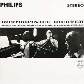 Schallplatte Svjatoslav Richter und Mrstislav Rostropowitsch – Beethoven: Sonaten für Klavier und Cello (Philips / Speakers Corner) im Test, Bild 1