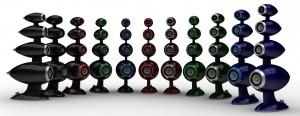 Lautsprecher Surround SW Speakers Magic Flute im Test, Bild 1