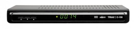 Kabel Receiver ohne Festplatte Triax C-150 Hybrid im Test, Bild 1