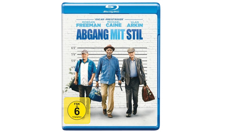 Blu-ray Film Abgang mit Stil (Warner Bros.) im Test, Bild 1