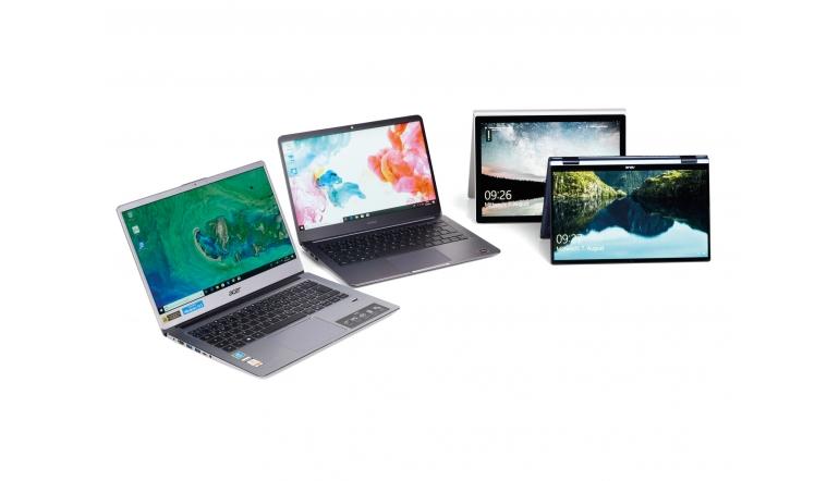 Notebooks und Ultrabooks Acer Swift 3, Huawei MateBook D 14, Asus ZenBook Flip 13, Microsoft Surface Book 2 im Test , Bild 1