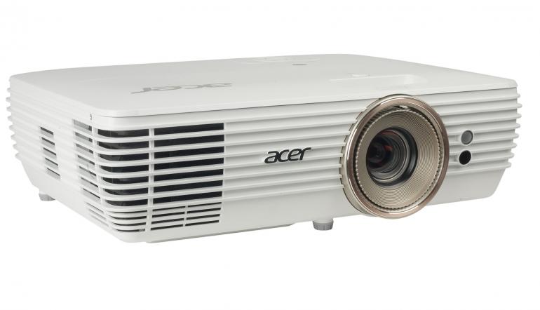 Beamer Acer V7850 im Test, Bild 1