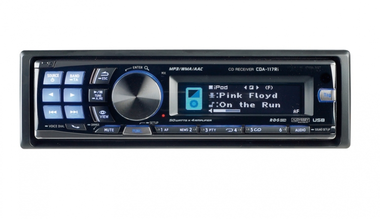 1-DIN-Autoradios Alpine CDA-117Ri im Test, Bild 1