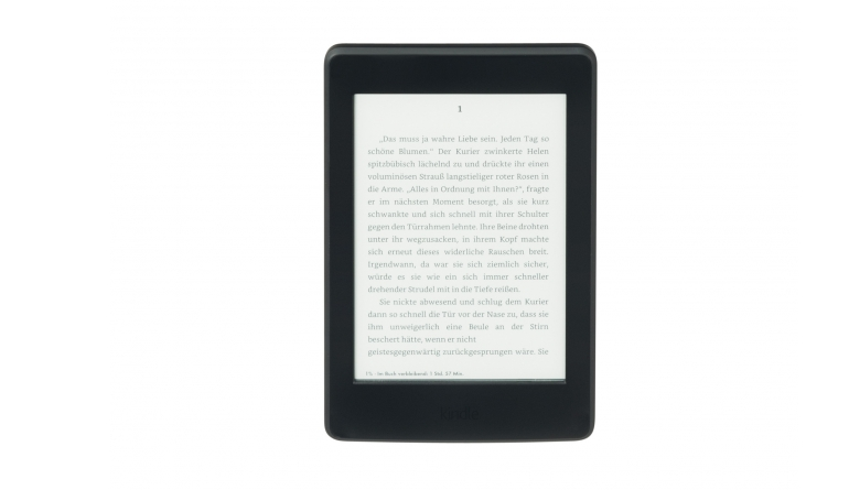 E-Book Reader Amazon Kindle Paperwhite 3 im Test, Bild 1