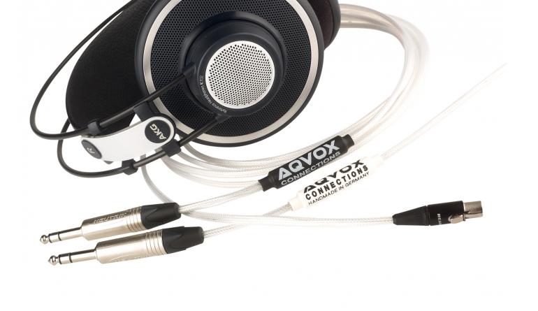 Zubehör HiFi Aqvox Kopfhörerkabel Kupfer/Silber im Test, Bild 1