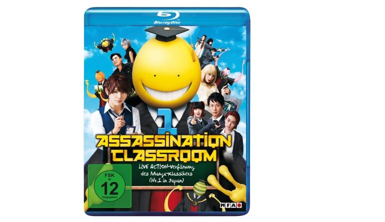 Blu-ray Film Assassination Classroom 1 (MFA+) im Test, Bild 1