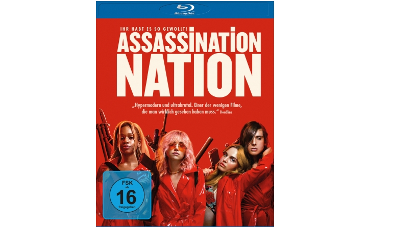 Blu-ray Film Assassination Nation (Universum) im Test, Bild 1