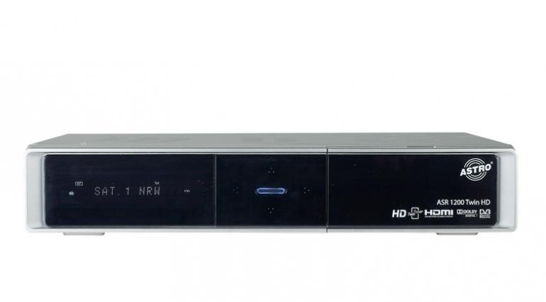 Sat Receiver ohne Festplatte Astro ASR 1200 Twin HD im Test, Bild 1