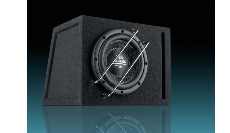 Car-Hifi Subwoofer Gehäuse Audio System HX 08 SQ Br im Test, Bild 1