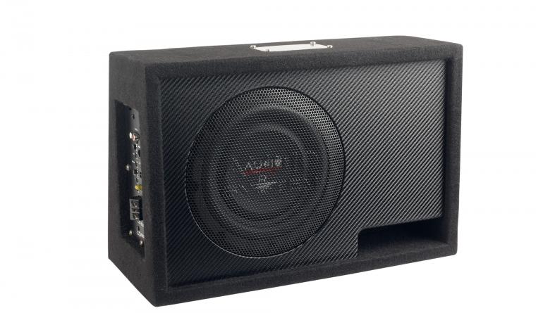 In-Car Subwoofer Aktiv Audio System R08 Flat BR Active Evo im Test, Bild 1