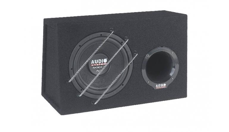 Car-Hifi Subwoofer Gehäuse Audio System Radion 10 Plus BR im Test, Bild 1
