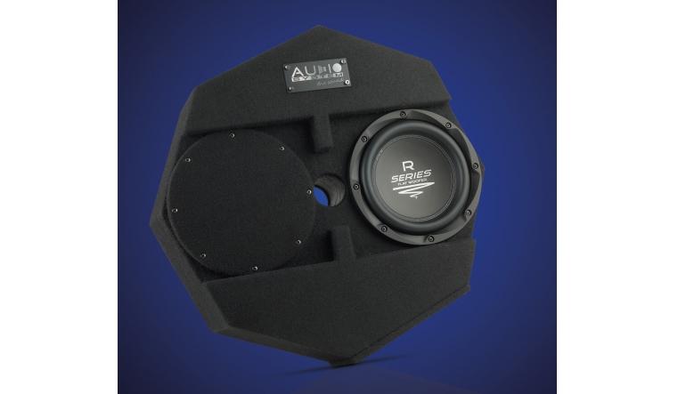 Car-Hifi Subwoofer Gehäuse Audio System Subframe R 08 Flat im Test, Bild 1