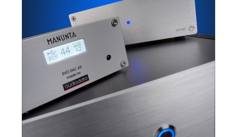 Zubehör HiFi Audiodata NT-MS, Manunta EVO DAC AD DAC AD (Made for Audiodata) im Test , Bild 1