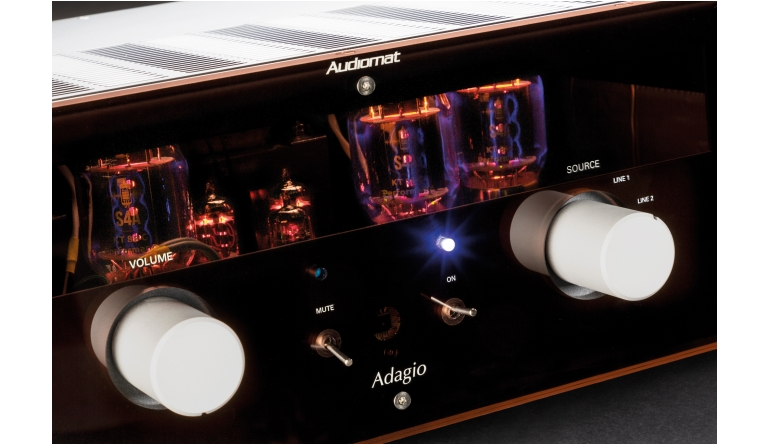 Röhrenverstärker Audiomat Adagio im Test, Bild 1