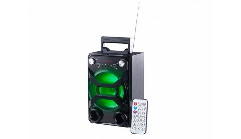 Bluetooth-Lautsprecher Auvisio Mobile Partyanlage ZX-1608 im Test, Bild 1