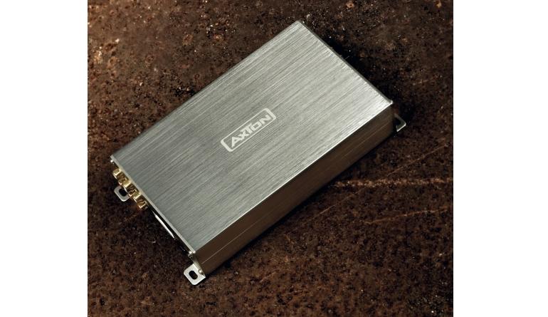 Test Car-HiFi Endstufe 4-Kanal - Axton A580DSP - sehr gut
